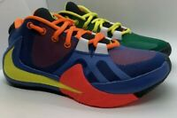 Nike Giannis Zoom Freak 1 What The Multi Green Yellow Red 4.5Y/6 W's CT8476-800