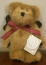 "New ListingBoyds Bears Ross Angelstar 5"" Plush Ornament Angel Wings Stuffed Animal"