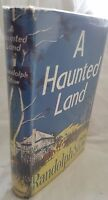 RANDOLPH STOW,A Haunted Land, 1956 FIRST EDITION DustJacket *Excellent Cond*