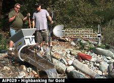 HIGHBANKING FOR GOLD DVD instructional high banker mining methods