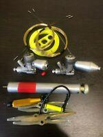 ✅ Combat engine F2D Zorro 2.5cc  ( engine made by Igor Zholnerkevich )