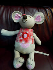 Large Easter Egg Mouse Miss Personality Shirt Bow Powell Craft EUC