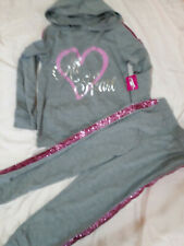 New Girl's All Heart Pants Set Size 5/6