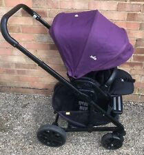 Mothercare Joie Travel System Pushchair Black Purple Buggy