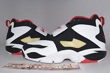 Nike Air Diamond Turf Black White Metallic Gold 2010 Style # 309434-100 Size 9.5