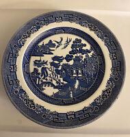 "Johnson Brothers Blue Willow Ironstone Dessert Plates - 6"""" - Set of 4"