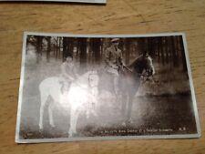 King George VI & Princess Elizabeth Post Card