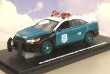 GREENLIGHT 1/43 2014 FORD NEW YORK CITY POLICE INTERCEPTOR NYPD VINTAGE LIVERY!