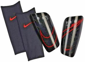 Nike Mercurial Lite Shin Guards Size Large SP2120-015 /RN56323