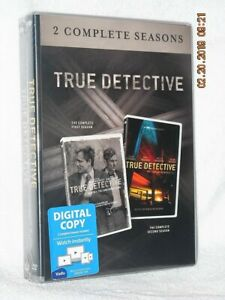 True Detective Seasons 1 & 2 (DVD, 2018, 2-Disc) NEW mystery Matthew McConaughey