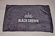"BUDWEISER BLACK CROWN BAR TOWEL 16.5"" X 12"""