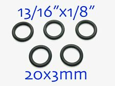"""5PCS Sealing Rubber O-Rings 13/16"""" x 1/8"""" D20x3mm TH018-00301"""