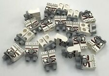 LEGO LOT OF 20 NEW WHITE MINIFIGURE LEGS CHIMA MONSTER PANTS PIECES