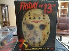 Neca Friday the 13th Jason Voorhees Mask Prop Replica VHTF Reel Toys  Remake