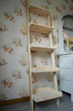 Shelve Handmade Vintage Ladder Decorative Storage