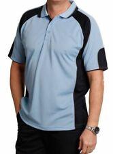 Men's Contrast Polo Shirts Cool Dry Plus Size Top | XS S M L XL 2XL 3XL 4XL 5XL