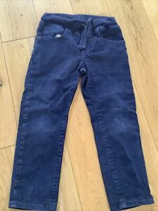 Gap Boys Navy Blue Cord Style Trousers Age 4