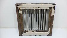 Vintage Antique Steel Register Floor Wall Grate Heat Vent Architectural Salvage