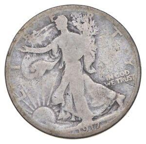 Better 1917-D - US Walking Liberty 90% Silver Half Dollar Coin Set Break *096