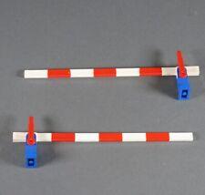 Lego Classic Railway Gate Train Locomotive Red White Raiload Crossing 2 Piece