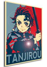 Poster Propaganda - Demon Slayer - Tanjirou Kamado - Variant 01