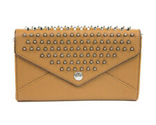 REBECCA MINKOFF Almond Wallet on a Chain with Studs $225 NEW