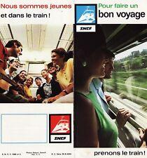 Brochures SNCF - Pour Faire Un bon Voyage, Prenons Le Train ! - 1969 - RARE !