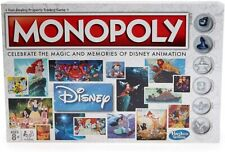 Monopoly Disney Animation Board Game Age 8+   2-4 Players🔥🔥