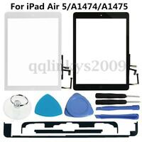 Touch Screen Digitizer Glass Lens Home Key Tool For Apple iPad Air 5 A1474 A1475