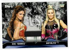 Natalya Signed 2017 Topps WWE Diva Rivalries Card #RV-25