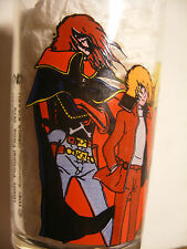 Antenne 2 verre à moutarde French Drinking Glass ALBATOR Captain HARLOCK toei 79