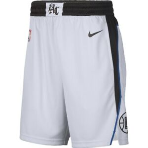 New Nike 2019-2020 Los Angeles Clippers City Edition Swingman Performance Shorts