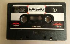 Juego Amstrad Bubble Bobble Cassette sólo-JUEGO AMSTRAD CASSETTE Burbuja Pompón