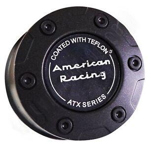 AMERICAN RACING ATX FLAT BLACK Wheel Cap Center Cap # 1342106017 (1 CAP) NEW
