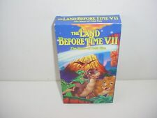The Land Before Time VII The Stone of Cold Fire VHS Video Tape Movie