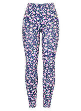 New Womens Ladies High Quality Stretchy  Printed Leggings UK size 8 10 12 14
