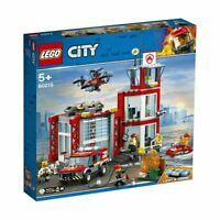 New 2020 LEGO 60215 Fire Station new version 2019 CITY from Tates Toyworld LF