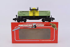American Flyer S Gauge 48046 Celanese Chemicals Tank Car