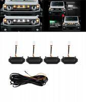 For Suzuki Jimny JB64W Sierra JB74W LED Grill Marker Lights Smoke Lens Japan