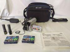 Samsung VP-D351 cinta videocámara Mini DV Digital Vídeo Cámara con 2 Cintas Y Estuche