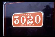 PHOTO  LNWR LOCO NUMBERPLATE 3020 CORNWALL