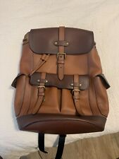 Coach F49543 Leather Backpack