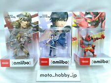 Nintendo Interruttore Amiibo Super Smash Bros Serie Chrom & Incineroar & Simon 3