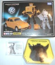 Transformers Takara Masterpiece MP-21 Bumblebee + Coin + Amazon battle face MIMB