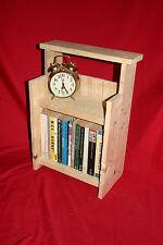 Rustic Wooden Shelves. Small book shelf, kitchen, boat, bathroom or bedside unit