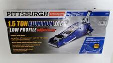 PIttsburgh 1.5 Ton Low Profile Compact Floor Jack w/Rapid Lift 09/B20944B