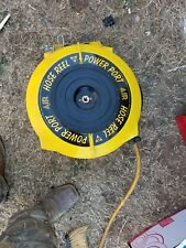 Yellow Retractable Air Hose Reel