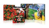 New Sealed The Wizard of Oz Steelbook 4K Ultra HD + Blu-ray + Digital Code