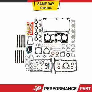 Full Gasket Set Head Bolts for 99-06 Audi A4 TT Quattro Volkswagen Jetta TURBO