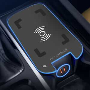Car Wireless Smart Phone Charger Fit for Volvo S90 XC60 XC90 V90 New ct